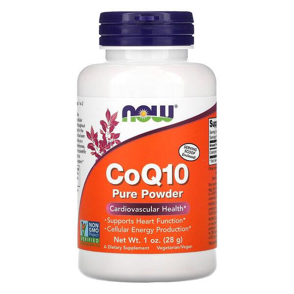 Now Foods, CoQ10, Polvo 100% Puro, 1 oz (28 g)