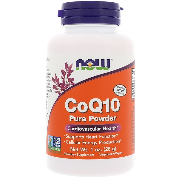 Now Foods, CoQ10, Pure Powder, 1 oz (28 g)