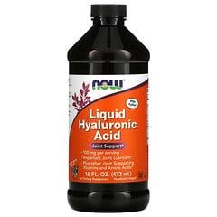 Now Foods, 漿果味液體玻尿酸, 100毫克, 16液體盎司(473毫升)