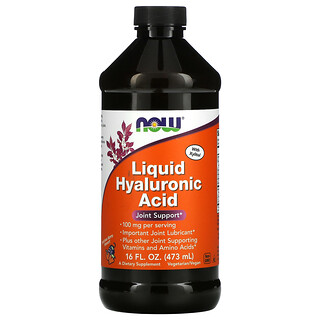 Now Foods, Liquid Hyaluronic Acid, Berry, 100 mg, 16 fl oz (473 ml)