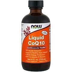 Now Foods, CoQ10 liquide, 118 ml (4 oz)