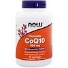 Now Foods, CoQ10, With Vitamin E and Lecithin Chewable, 200 mg, 90 Lozenges