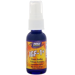 Now Foods, IGF-1+, 1 fl oz (30 ml)