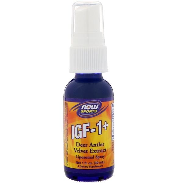 Now Foods, IGF-1+, 1 液盎司 (30 ml)