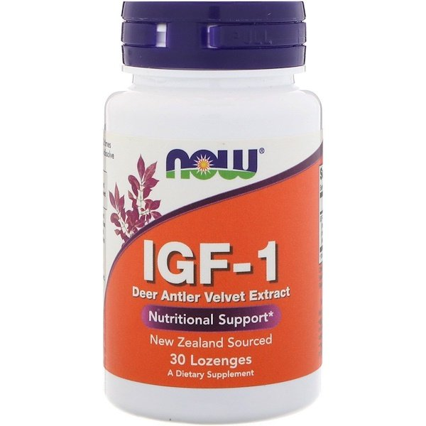 Now Foods, IGF-1, 30 Lozenges