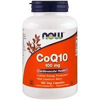 CoQ10, With Hawthorn Berry, 100 mg, 180 Veggie Caps - фото