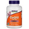 Now Foods, サンザシ配合CoQ10、100mg、ベジカプセル180粒