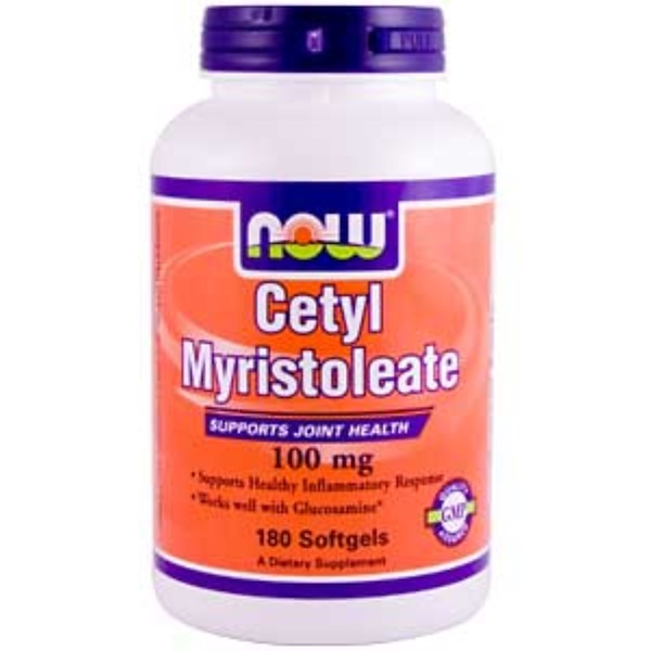 Now Foods, Cetyl Myristoleate, 100 mg, 180 Softgels (Discontinued Item)