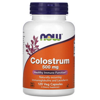 Now Foods, Colostrum, 500 mg, 120 Veg Capsules
