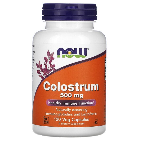 Colostrum, 500 mg, 120 Veggie Caps