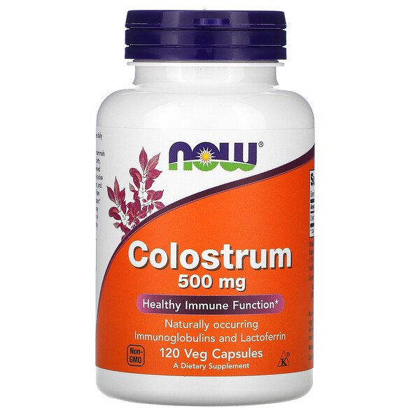 Colostrum, 500 mg, 120 Veg Capsules