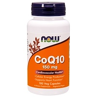 Коэнзим Q10, 150 мг, 100 капсул - фото