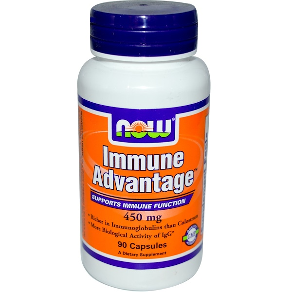 Now Foods, Immune Advantage, 450 mg, 90 Capsules (Discontinued Item)