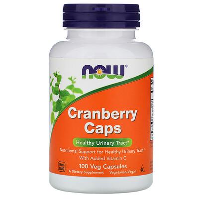 Клюквенные капсулы, 100 растительных капсул now foods diet support поддержка диеты капсулы 120 шт