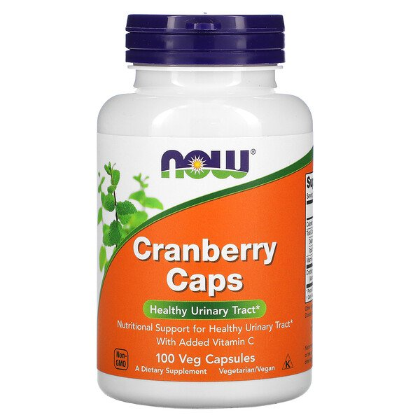 Now Foods, Cápsulas de Cranberry, 100 Cápsulas Vegetais