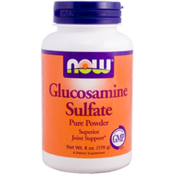 Now Foods, Glucosmaine Sulfate Pure Powder, 6 oz (170 g) (Discontinued Item)