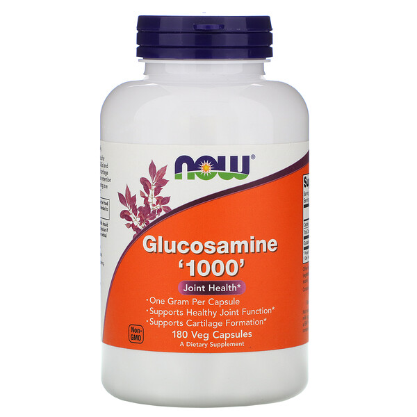 Now Foods, Glucosamine '1000', 180 Veg Capsules
