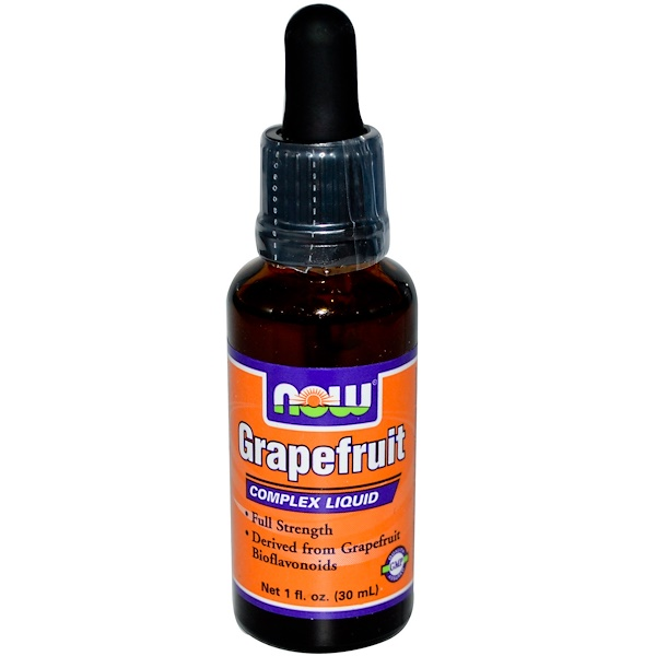 Now Foods, Grapefruit Complex Liquid, 1 fl oz (30 ml) (Discontinued Item)