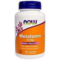 Мелатонин, 3мг, 180капсул - фото