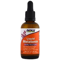 Now Foods, Liquid Melatonin, 2 fl oz (60 ml)