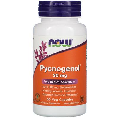 Фото - Pycnogenol, 30 mg, 60 Veg Capsules hyaluronic acid 50 mg 60 veg capsules