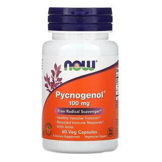 Now Foods, Pycnogenol, 100 mg, 60 Veg Capsules