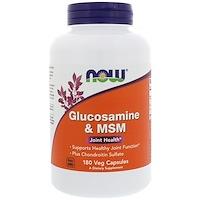 Глюкозамин и МСМ, 180 растительных капсул - фото