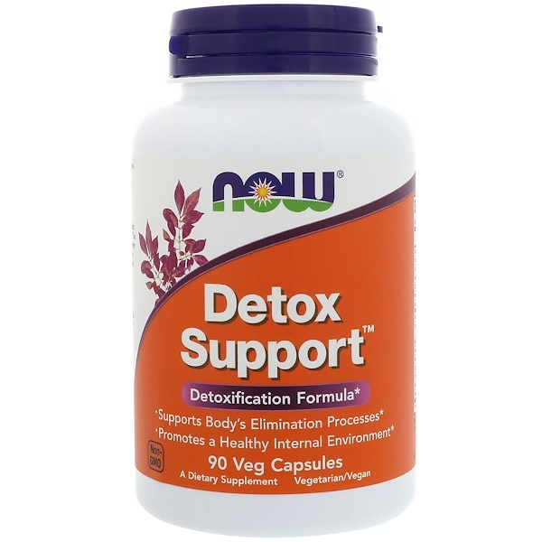 Now Foods, Detox Support, 90 Veg Capsules