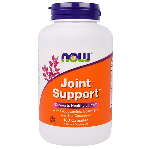 Now Foods, Joint Support, 180 Capsules (Discontinued Item)