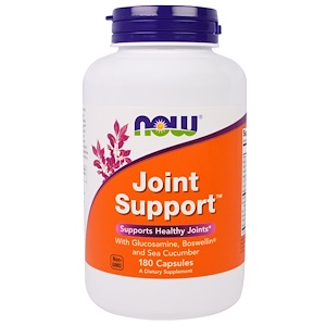 Now Foods, Joint Support, 180 Capsules отзывы