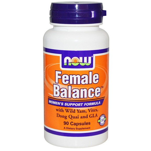 Now Foods, Female Balance, 90 Capsules (Discontinued Item)