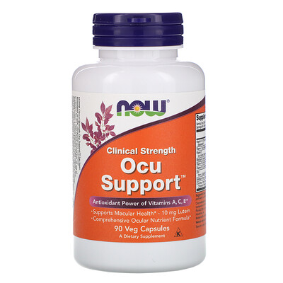 Clinical Strength Ocu Support, 90 растительных капсул