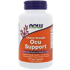Now Foods, 臨床用量眼球サポート、ベジカプセル90錠