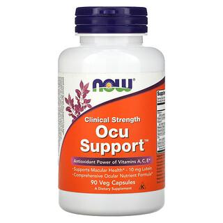Now Foods, Clinical Strength Ocu Support ، 90 كبسولة نباتية