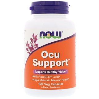 Now Foods, Ocu Support, 120 capsules végétales