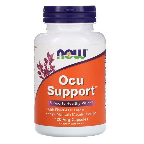Now Foods, Ocu Support,120 粒素食膠囊