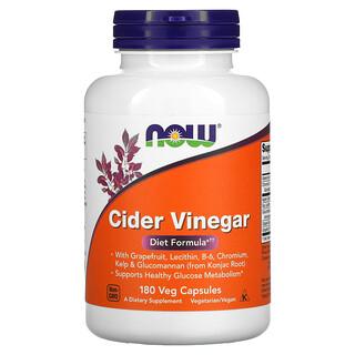 Now Foods, Cider Vinegar, 180 Veg Capsules