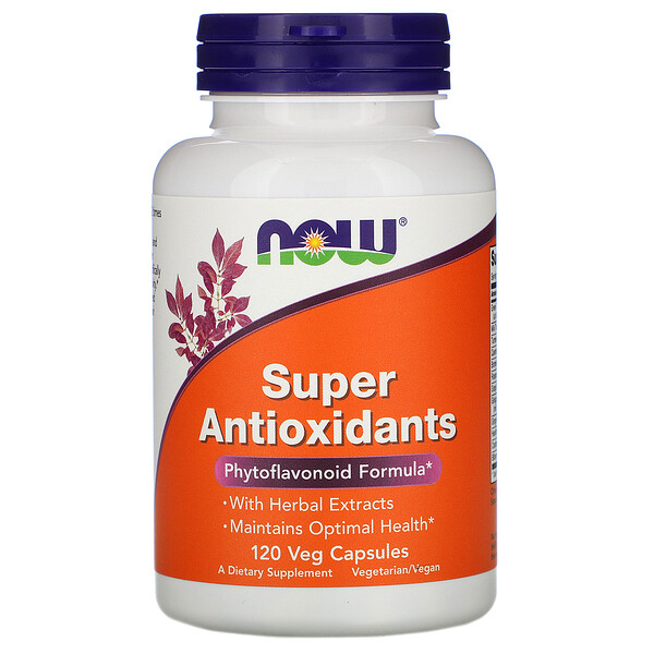 Now Foods, Super Antioxidants, 120 Veg Capsules