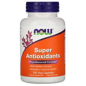 Now Foods, Super Antioxidants, 120 Veg Capsules отзывы покупателей