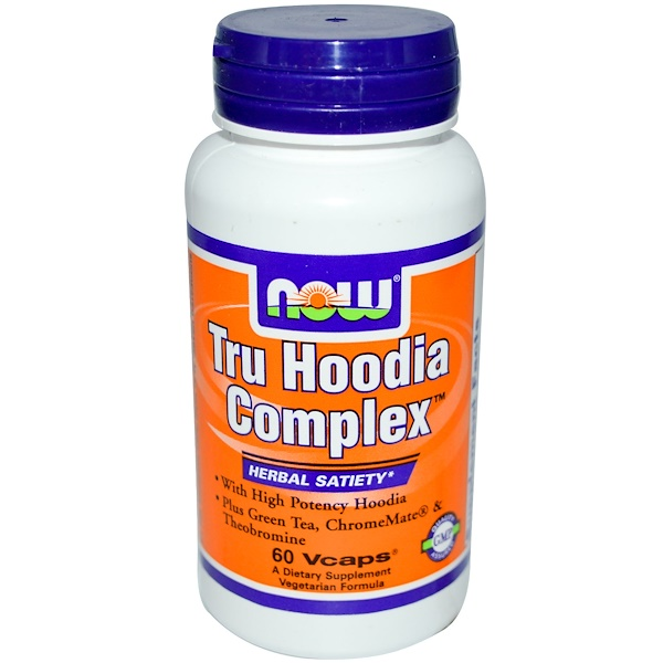 Now Foods, Tru Hoodia Complex, 60 Vcaps (Discontinued Item)