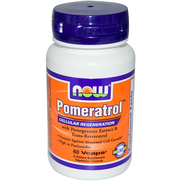 Now Foods, Pomeratrol, 60 Vcaps (Discontinued Item)