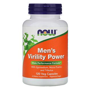 Now Foods, Men's Virility Power, 120 Veg Capsules