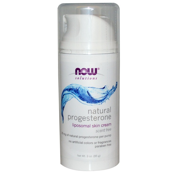 Now Foods Natural Progesterone Cream Reviews