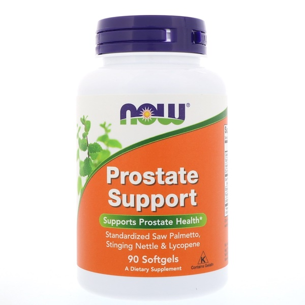 Now Foods, Prostate Support, 90 cápsulas blandas