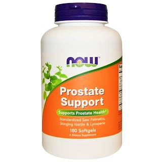 Now Foods, Prostate Support, 180 gélules