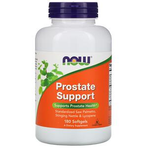 Now Foods, Prostate Support, 180 Softgels отзывы