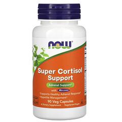Now Foods, 特強皮質醇支持素食膠囊,90 粒裝