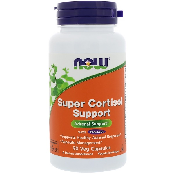 Super Cortisol Support, 90 gélules végétales