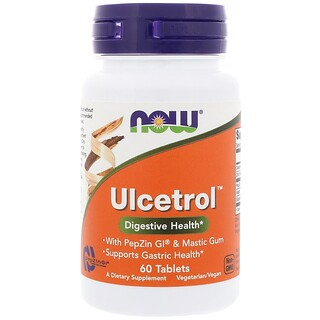 Now Foods, Ulcetrol, 60 Tablets