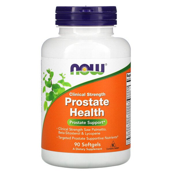 Now Foods, Clinical Strength Prostate Health, 90 Softgels
